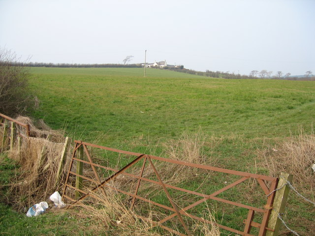 Field and Rusty Gate