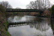 Preserved Bailey Bridge over River Don