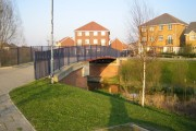 Thamesmead: Gallions Canal bridge