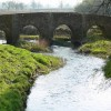 The Packhorse Bridge Anstey, crossing Rothley Brook.