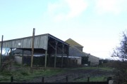 Farm buildings at Penhale