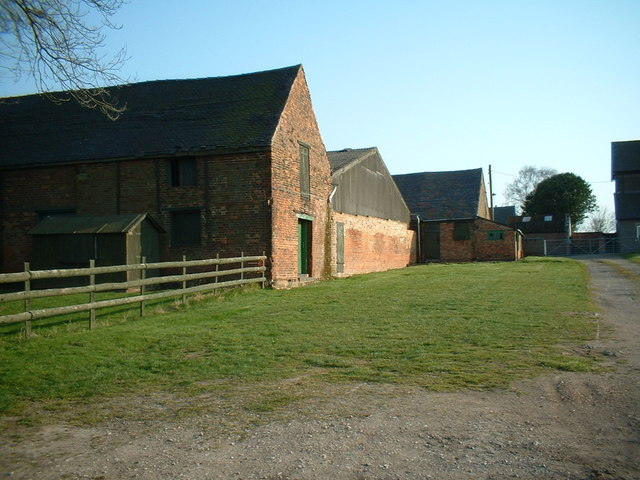 Farm buildings at Ashleigh House