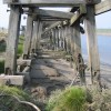 Ruined Jetty by the River Dee #2