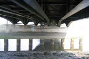 Under the Queensferry Bridge