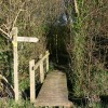Footbridge near Hempnalls Hall