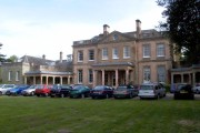 Frontal view of Upton house.