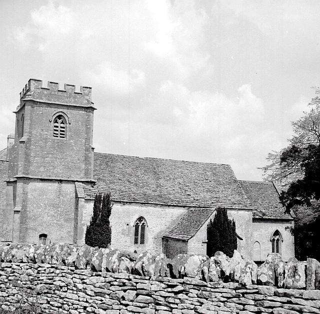 Daglingworth Holy Rood Church