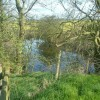 Small Water hole at Blakenhall Farm
