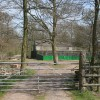 Game rearing sheds in Round Wood near Caverswall