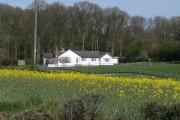 Skeys Wood and house, Shropshire