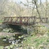 Footbridge near Giedd Forest car park