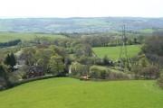 Dunchideock: view near Lawrence Castle
