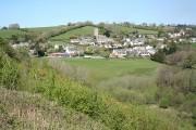 Goodleigh: towards the village