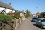 West Buckland: village street