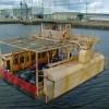 Transporter bridge cradle