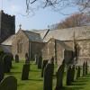 Clovelly church