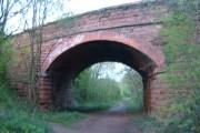 Disused railway Leapgate