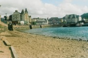Oban Harbour - the beach