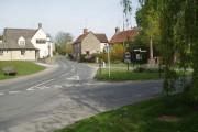 Crawley village and war memorial