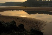 On the Rocks at Sundown: Caswell