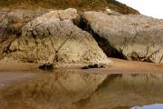 Rocks at Caswell Beach