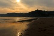Sunglow on Caswell Beach