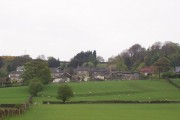 Approaching Hawksworth Village