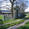 Ornamental Doorway by Old Hall Farm