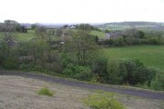 Farmland, above Llantwit Fardre