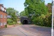 Midland Railwayline Bridge over Mile House Lane