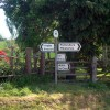 Signpost at Plealey