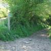 Chulmleigh: bridleway at Spittle