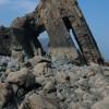 Blackchurch Rock, Mouthmill Beach