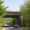 Bridge carrying the A4232 over St Georges road.