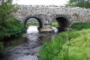 Bridge over Afon Solfach/River Solva