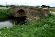 Bridge over the West Fen Catchwater Drain