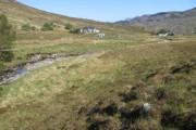 Across the Allt Ceann Locha towards Kinloch