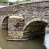 Ashmill Bridge over the River Carey