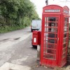 Dubbs Cross phone and post box