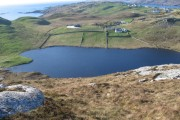 Loch a' Mhill Dheirg from above Creag na Min