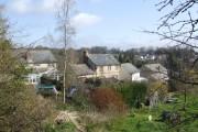 Back gardens of Smallridge