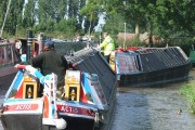 Narrowboats at Ansty Northern Oxford Canal