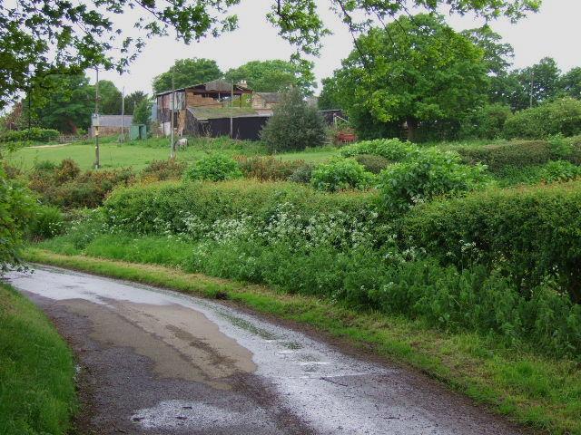Rear of Elm Tree Farm