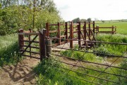 Bridleway bridge over stream