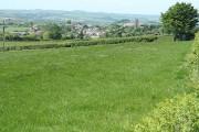 Chittlehampton: towards the village