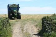 Filleigh: grass harvest