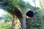 Bridge over disused railway track