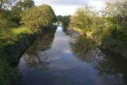 River Torridge. View E.N.East from Hele Bridge
