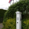 Parish pump and flagpole