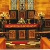 The Altar of St  Paul's Church, Scropton, Derbyshire